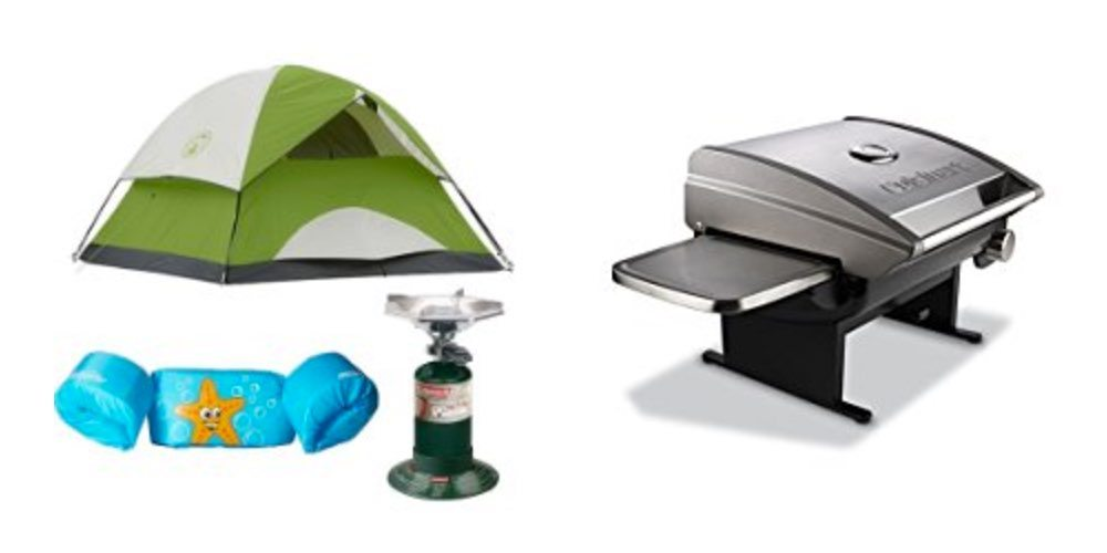 Half Off Camping Tents, Chairs, and More Coleman Gear; Get Grilling for $52 On Up – Daily Deals!