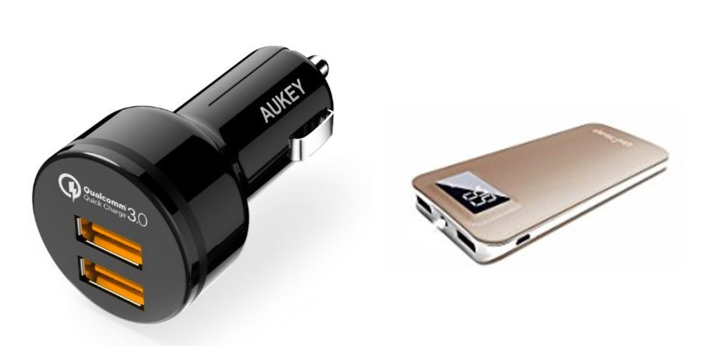 Get a Dual USB 3 Quick Charger 12V Plug Or a 11,000mAh Battery for $16 – Daily Deals!
