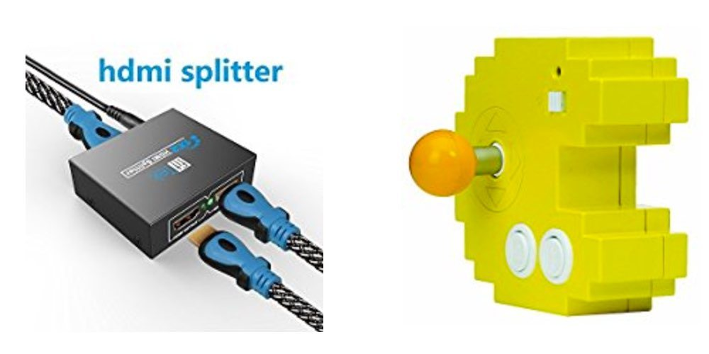 Get an HDMI Splitter for $15; Play Pac-Man, Xevious and More on Your TV for $15 – Daily Deals!