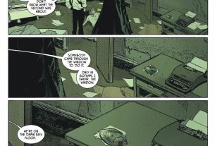 Batman, Jim Gordon, Swamp Thing