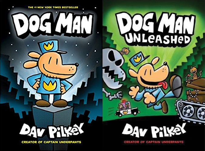 Dog Man 1 and 2