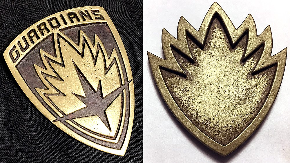 Cold Cast 'Guardians of the Galaxy' Badges