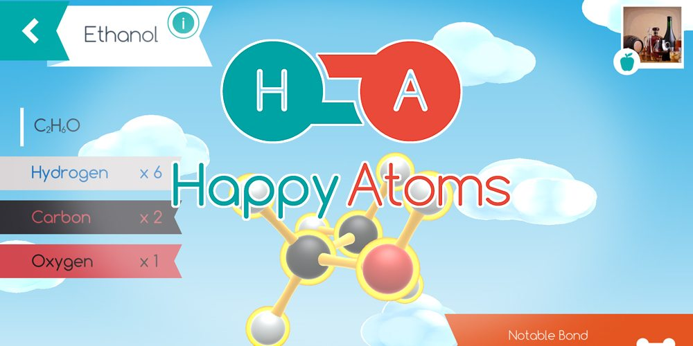 Explore the World of Molecules With 'Happy Atoms'