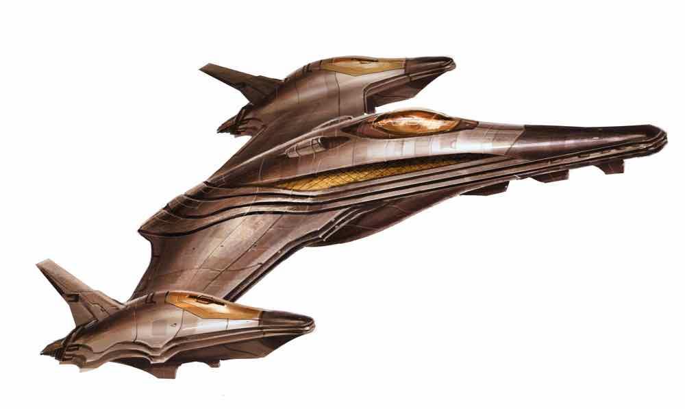 Voidrunner kasathan-style ship