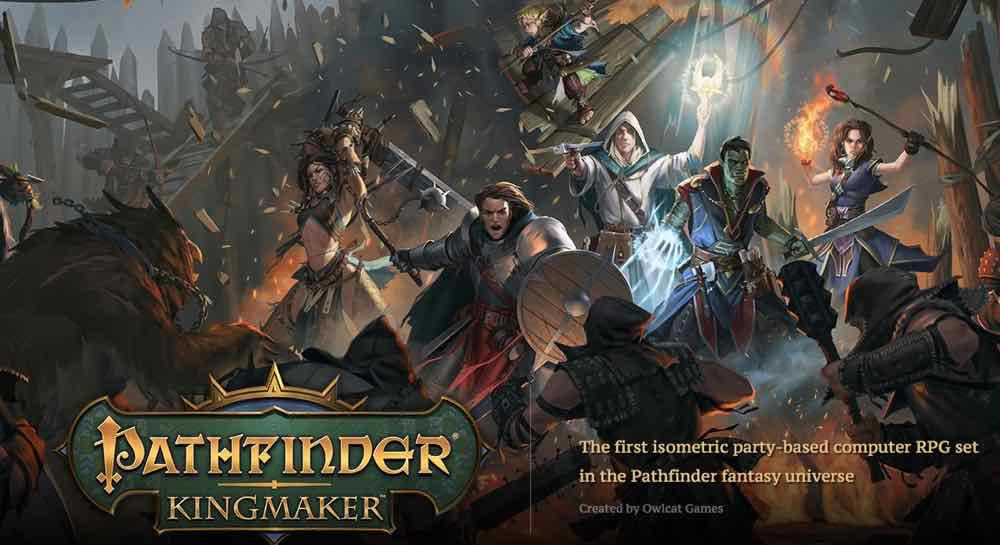 'Pathfinder: Kingmaker' Tame the Stolen Lands and Build Your Kingdom in This New Computer RPG