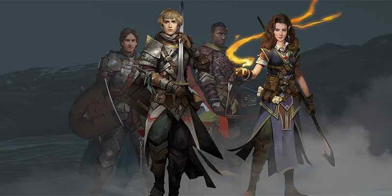 Pathfinder: Kingmaker Character Concept Art