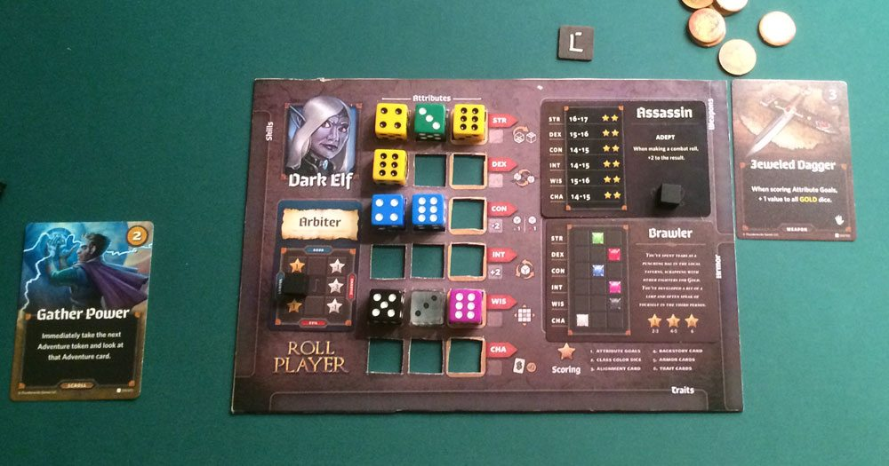 Roll Player: Monsters & Minions dark elf