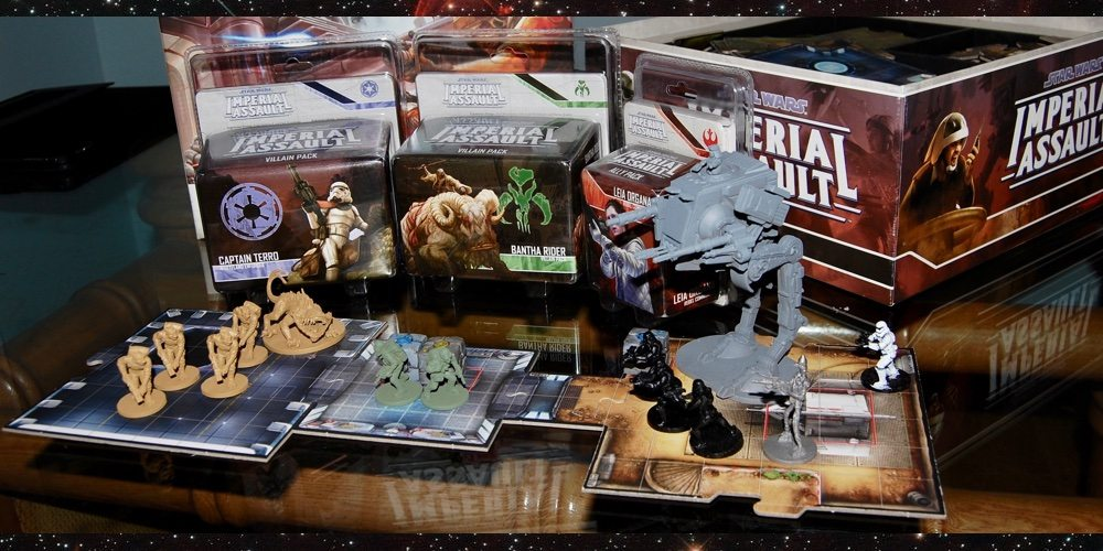 GeekDad Paints! 'Star Wars: Imperial Assault' Backlog of Shame Challenge