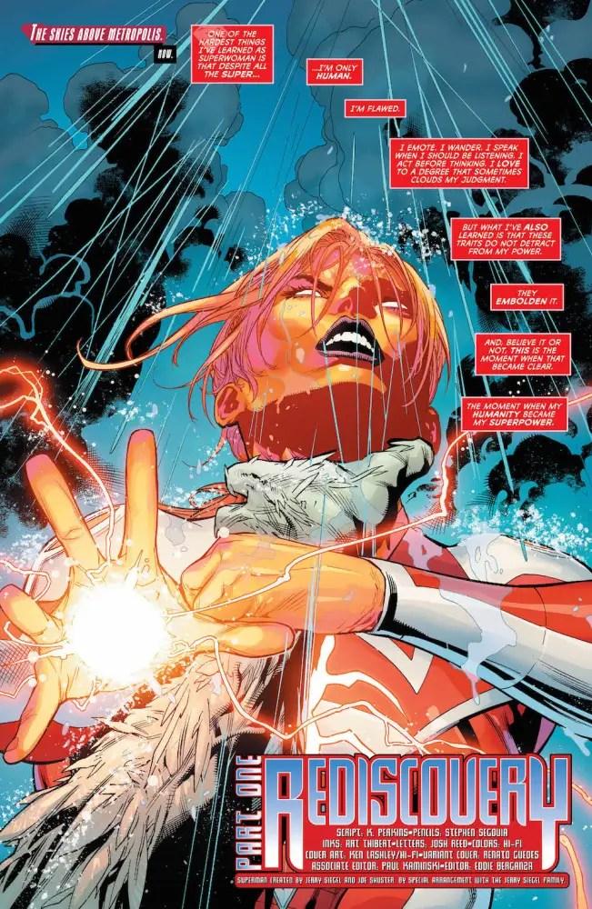 Lana Lang as Superwoman