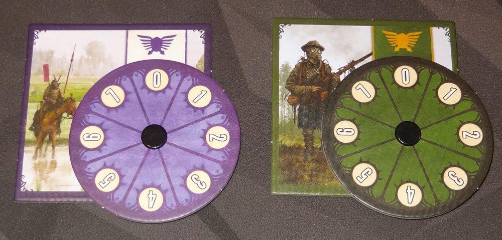 Scythe combat dials