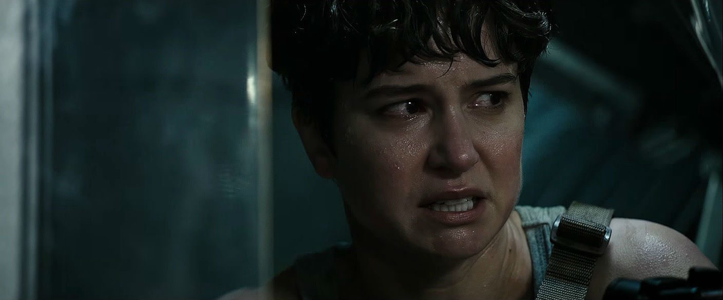 Katherine Waterston as Dani in Aline:Covenant