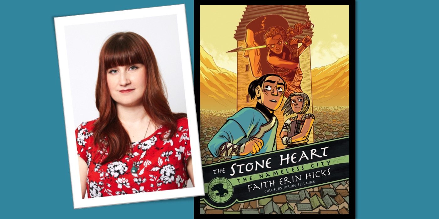 Faith Erin Hicks Interview for 'The Stone Heart'