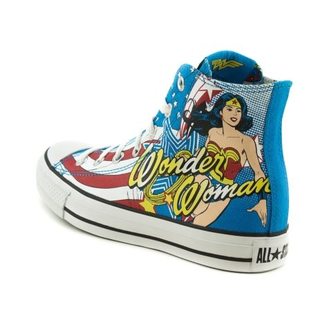 Wonder Woman Hi-Top Sneakers