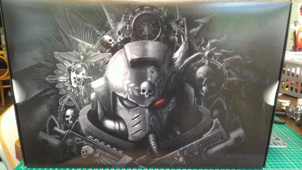 Warhammer 40K 8th Ed Internal Box Art