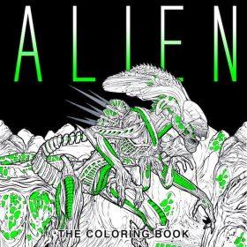 Alien-Coloring-Book