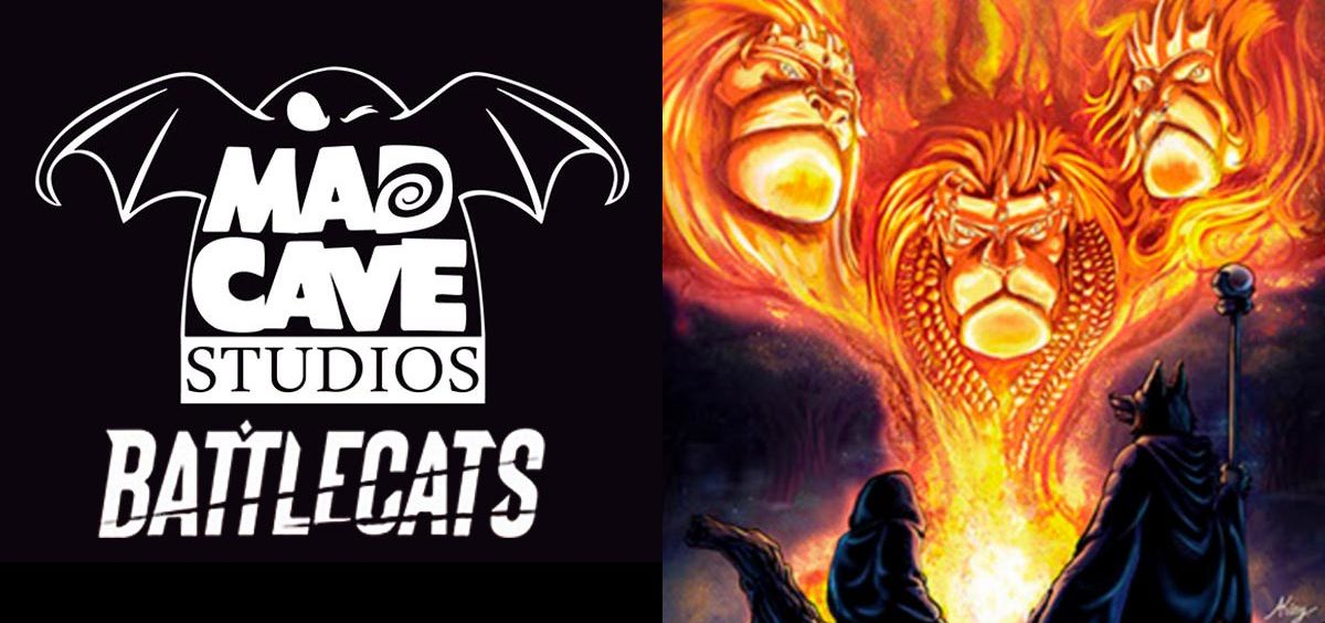 Battle Cats Art by Mad Dog Studios