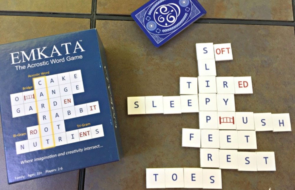 'Emkata: The Acrostic Word Game' Is Perfect for Summer!
