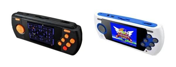 Atari and Sega Handheld Classic Games
