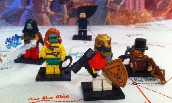 LEGO D&D strahd party