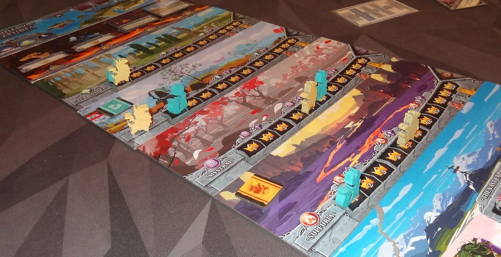 Legendary Creatures realms boards