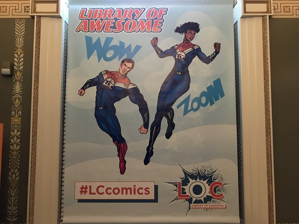 Comics Take the Spotlight at the Library of Awesome