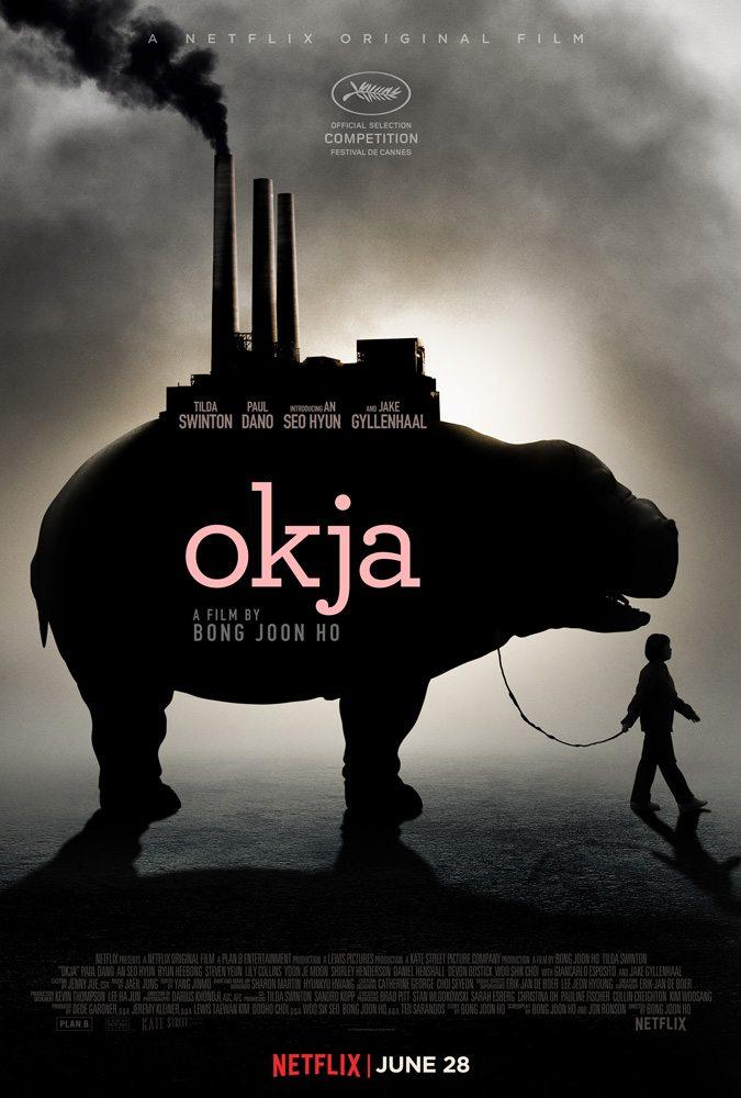 Okja movie poster