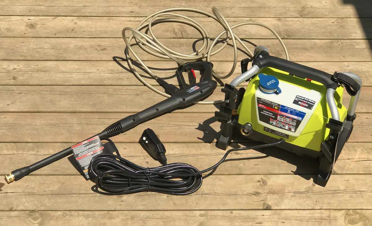 Ryobi Electric Pressure Washer Makes a Great Father's Day Gift