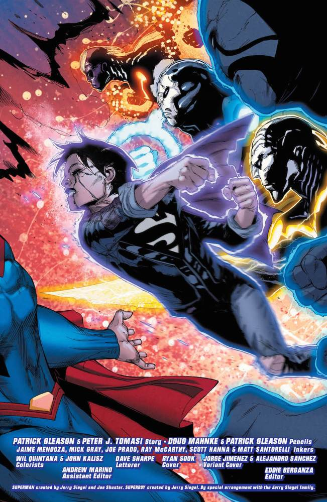 Jon Kent, Superman #25