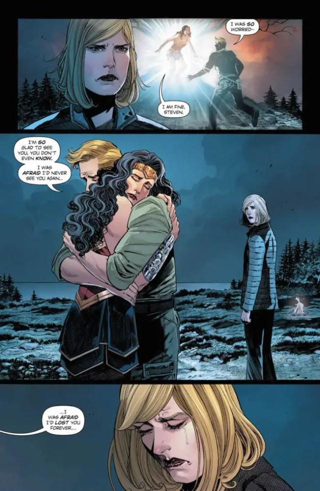 Wonder Woman #24, Steve Trevor, Veronica Cale