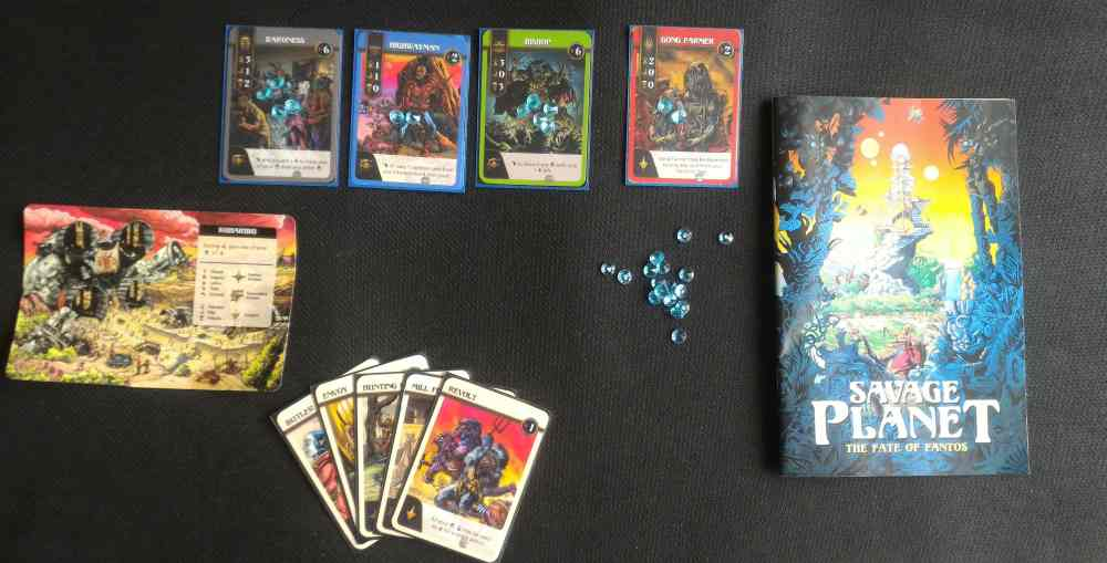 Tabletop Kickstarter Alert: 'Savage Planet: The Fate of Fantos'