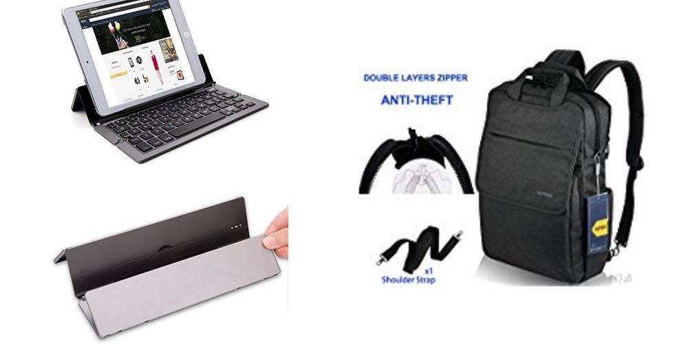 Geek Daily Deals for July 13, 2017: Amazing Portable BT Keyboard, Secure Slim Laptop Backpack