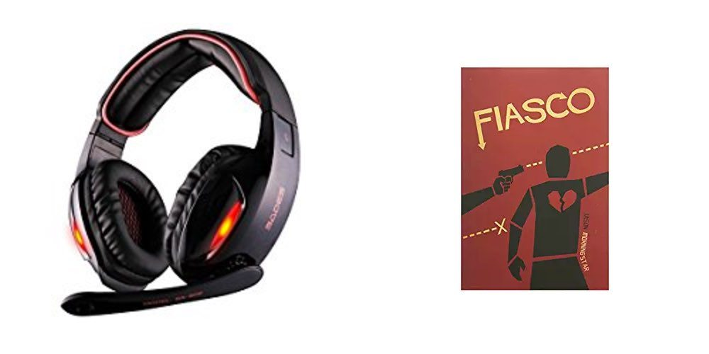 Geek Daily Deals for July 18, 2017: 7.1 Channel Gaming Headset for $21; Get the 'Fiasco' Game for $17