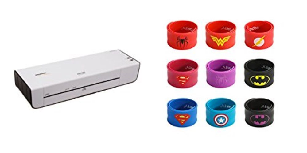 Geek Daily Deals for July 23, 2017: Get a Thermal Laminator for $18; Kids' Superhero Slap Bracelets for $7