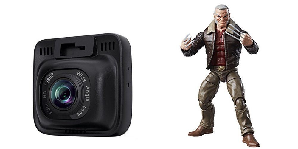 Geek Daily Deals for July 28, 2017: Aukey Dash Cam for $50; Marvel Legends Wolverine Figure for $14