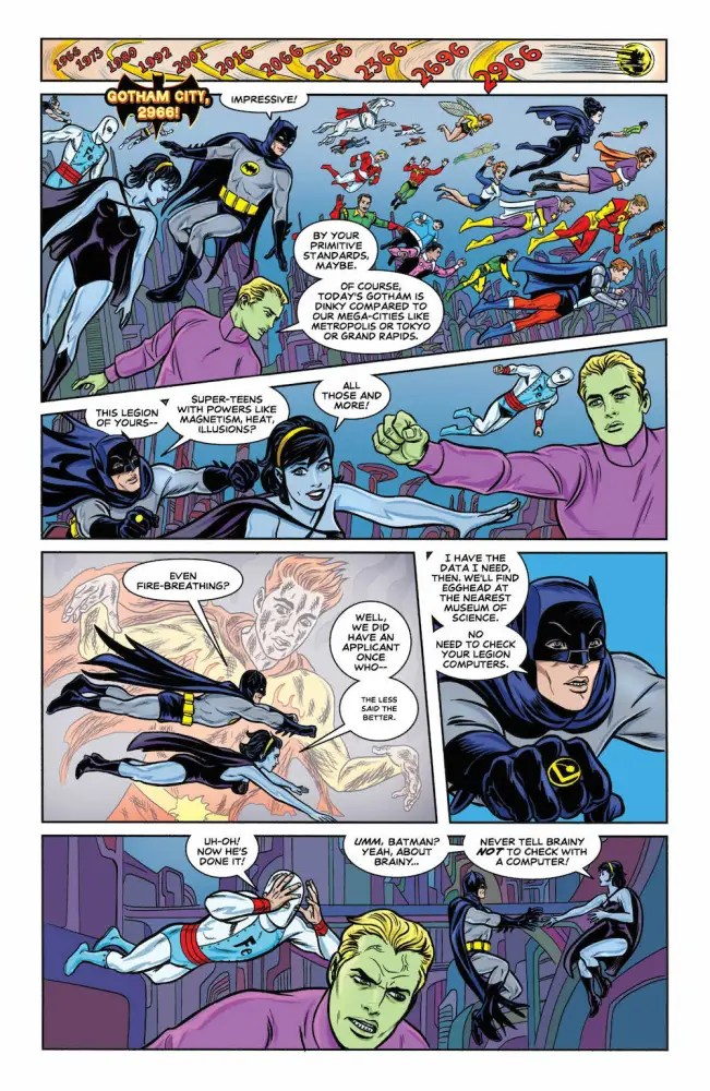 Batman '66 and the Legion of SuperHeroes #1