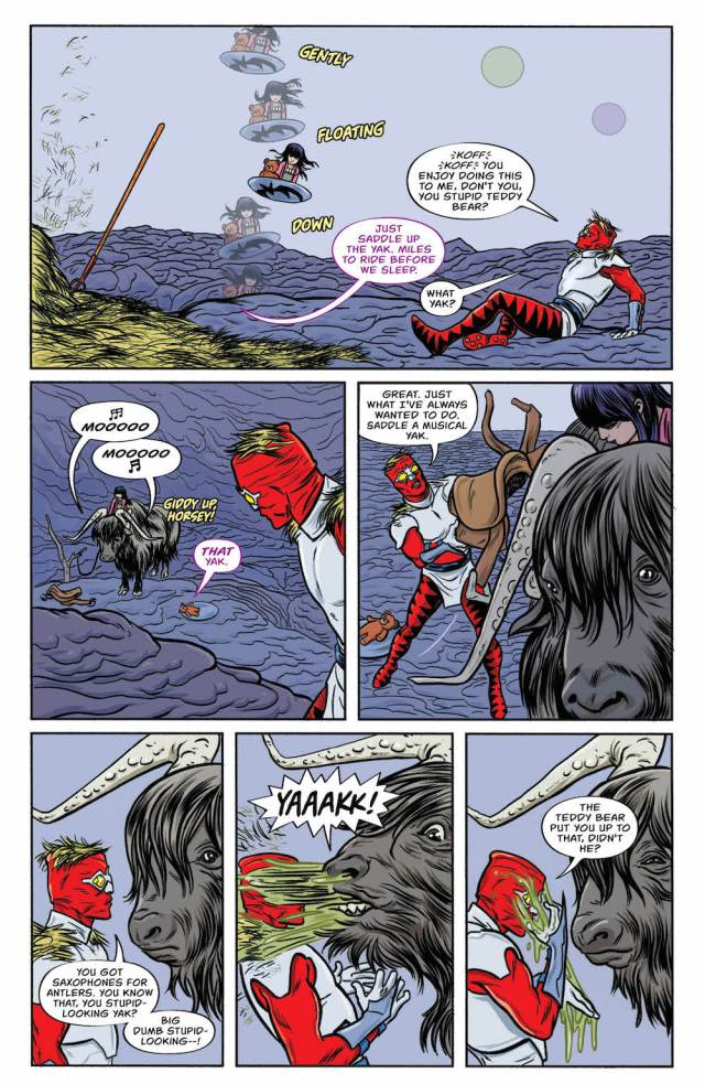 Bug: The Forager #3, 2017