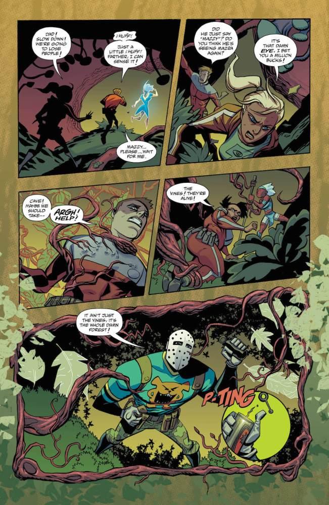 Wilddog, Cave Carson Has a Cybernetic Eye #10