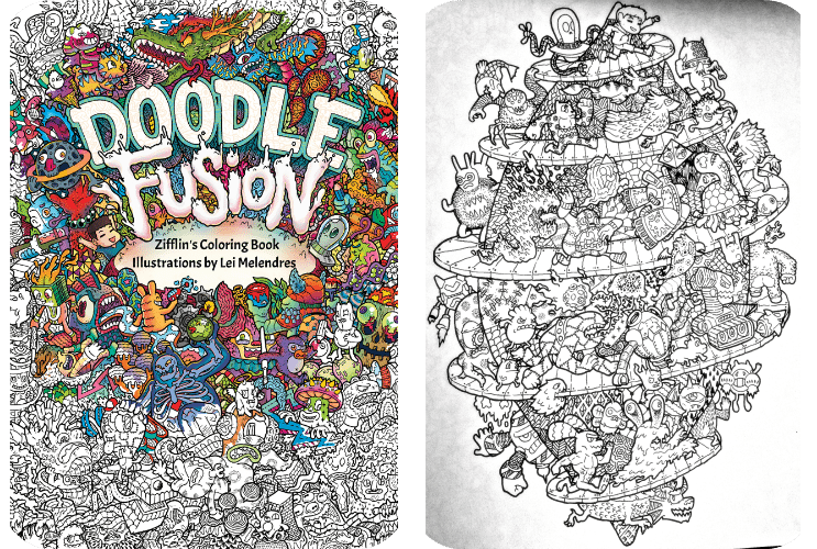 Doodle Fusion by Lei Melendres