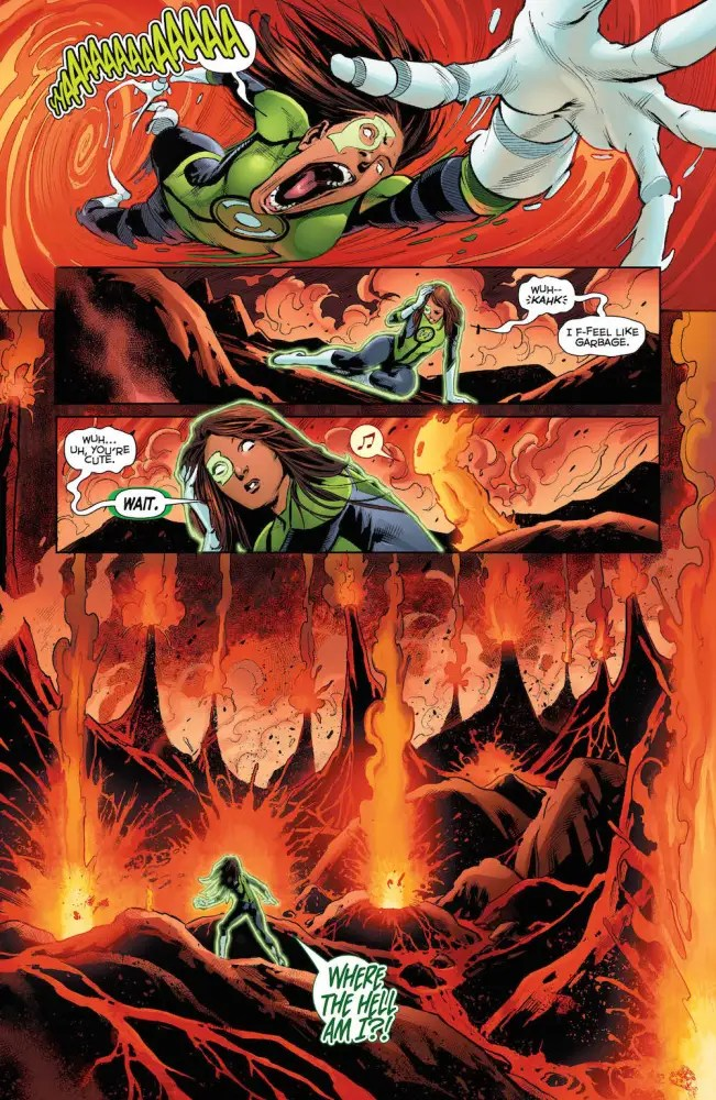 Green Lanterns #27, Jessica Cruz