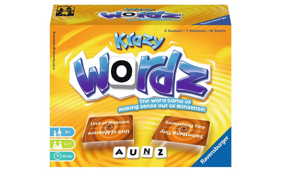 Free Your Verbal Imagination with 'Krazy Wordz'
