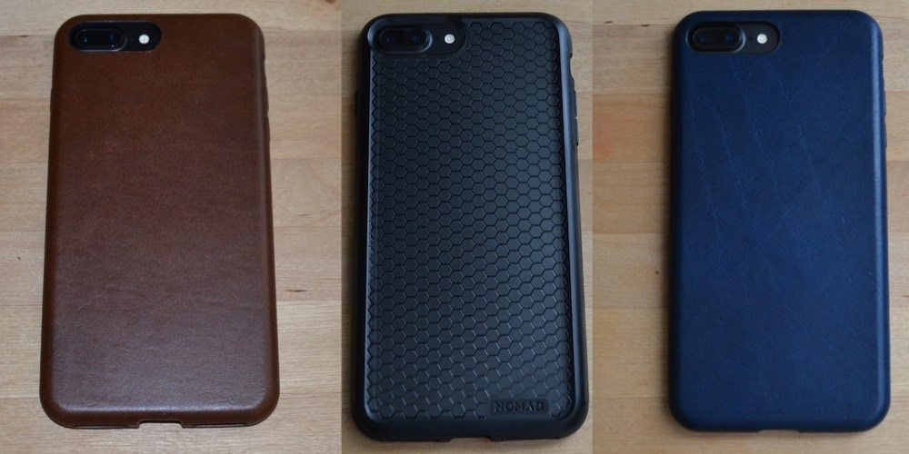 GeekDad Review: A Collection of Nomad iPhone 7 Plus Cases