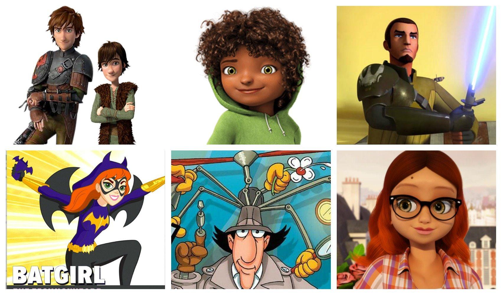Smart Kind Characters in children's media