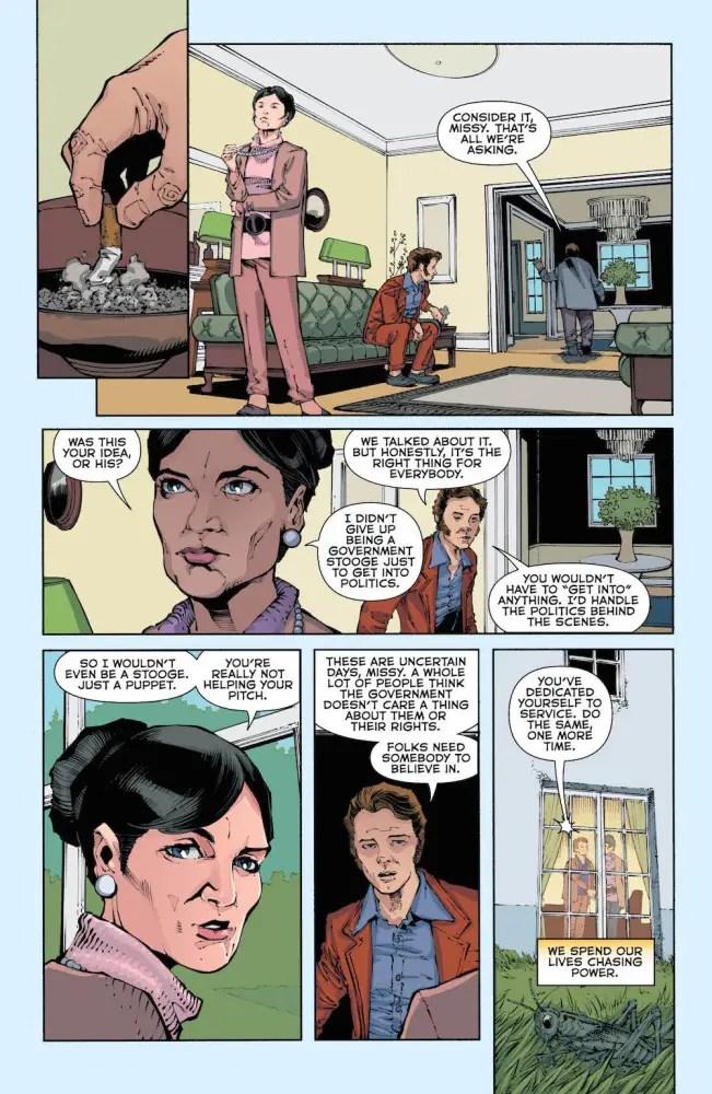 The American Way #1, Vertigo Comics