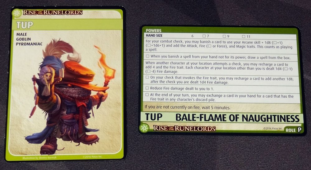 Tup: Bale-Flame of Naughtiness