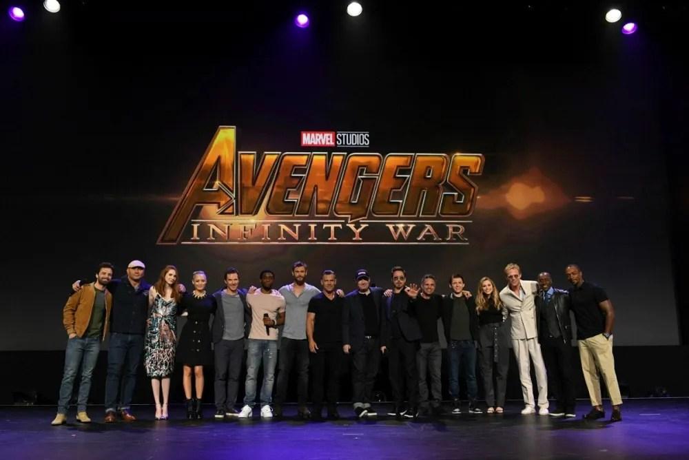 Avengers Infinity Stone D23 Expo