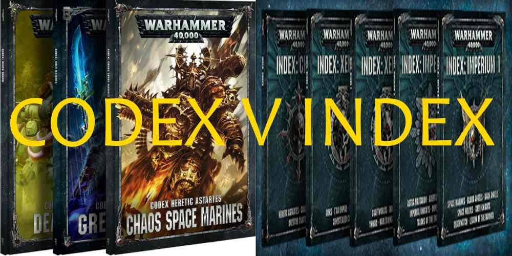 Warhammer 40,000' - Codexes vs Indexes - GeekDad