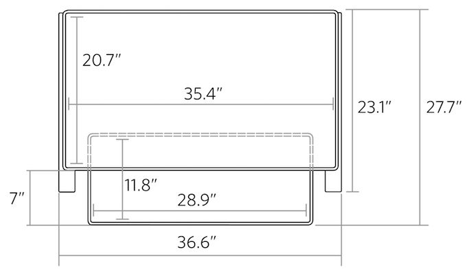 Dimensions of Cooper