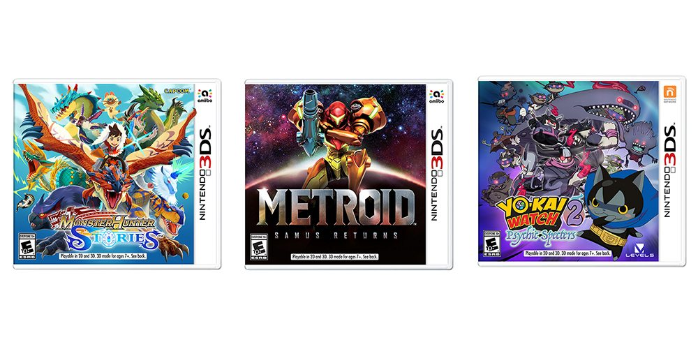fall 3ds titles