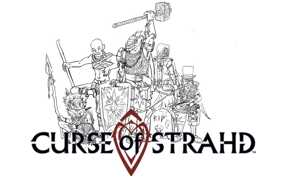 'D&D Curse Of Strahd' Player's Report: Session 19