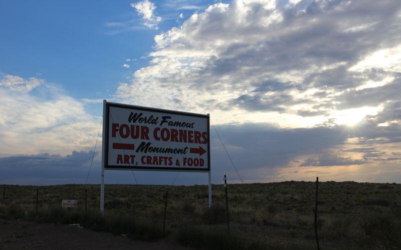 World Famous Four Corners Monument